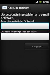 Sony ST23i Xperia Miro - E-mail - e-mail instellen: POP3 - Stap 14