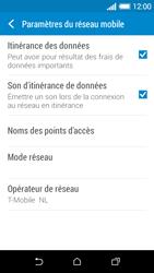 HTC Desire 510 - Aller plus loin - Désactiver les données à l'étranger - Étape 5
