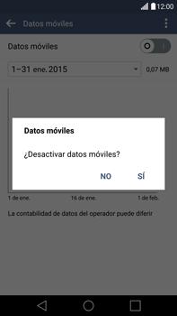 LG G4 - Internet - Activar o desactivar la conexión de datos - Paso 6