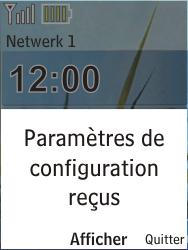 Nokia X2-00 - MMS - Configuration automatique - Étape 3