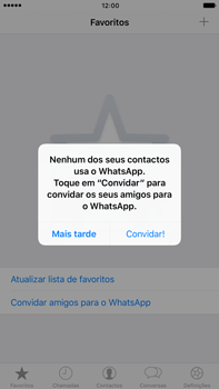 Apple iPhone 7 Plus - Aplicações - Como configurar o WhatsApp -  14