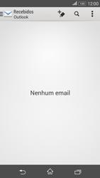 Sony Xperia E4G - Email - Como configurar seu celular para receber e enviar e-mails - Etapa 9