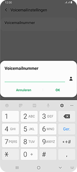 Samsung galaxy-a80-dual-sim-sm-a805fz - Voicemail - Handmatig instellen - Stap 10