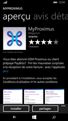 Microsoft Lumia 535 - Applications - MyProximus - Étape 8
