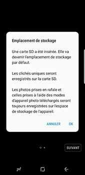Samsung Galaxy S8 - Photos, vidéos, musique - Créer une vidéo - Étape 4