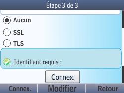 Nokia Asha 210 - E-mail - Configuration manuelle - Étape 17