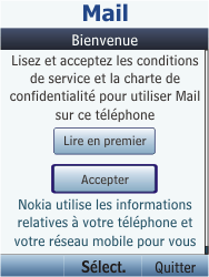 Nokia C2-05 - E-mail - Configuration manuelle - Étape 4
