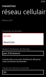 Nokia Lumia 720 - Internet - activer ou désactiver - Étape 6