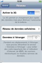 Apple iPhone 3G S - Internet - configuration manuelle - Étape 6