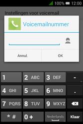 """Alcatel Pixi 3 - 3.5"""" - Voicemail - handmatig instellen - Stap 9"""