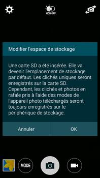 Samsung Galaxy Note 4 - Photos, vidéos, musique - Prendre une photo - Étape 4