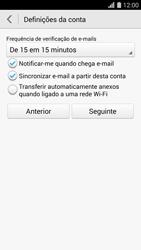Huawei G620s - Email - Adicionar conta de email -  8