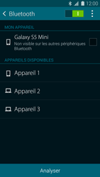 Samsung Galaxy S5 Mini (G800) - Bluetooth - connexion Bluetooth - Étape 8