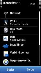 Nokia C7-00 - Bellen - in het buitenland - Stap 5