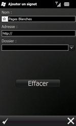Samsung B7610 Omnia Qwerty - Internet - navigation sur Internet - Étape 8