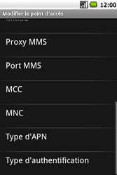 Samsung I5700 Galaxy Spica - Internet - Configuration manuelle - Étape 10