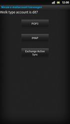 Sony LT26i Xperia S - E-mail - Handmatig instellen - Stap 8