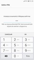 Samsung Galaxy A3 (2017) - Segurança - Como ativar o código de bloqueio do ecrã -  10