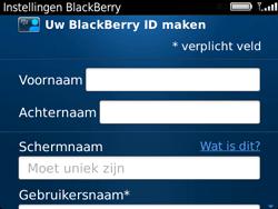 BlackBerry 9720 Bold - BlackBerry activeren - BlackBerry ID activeren - Stap 9