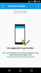 Sony Xperia Z5 - Android Nougat - Netwerk - Software updates installeren - Stap 7