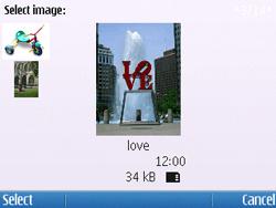 Nokia E5-00 - Mms - Sending a picture message - Step 13