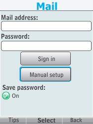 Nokia 301-1 - E-mail - Manual configuration - Step 8