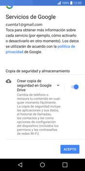LG Q6 - E-mail - Configurar Gmail - Paso 14