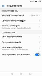 Huawei P8 Lite (2017) - Segurança - Como ativar o código de bloqueio do ecrã -  11