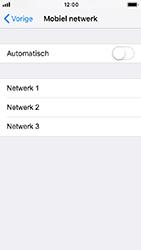 Apple iPhone 5s - iOS 12 - Netwerk - Handmatig een netwerk selecteren - Stap 6