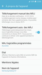 Samsung G930 Galaxy S7 - Appareil - Mises à jour - Étape 7