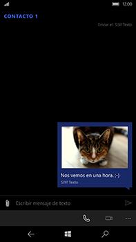 Microsoft Lumia 950 XL - Mensajería - Escribir y enviar un mensaje multimedia - Paso 15
