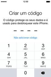 Apple iPhone 4S iOS 8 - Primeiros passos - Como ligar o telemóvel pela primeira vez -  18