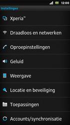 Sony ST25i Xperia U - Voicemail - Handmatig instellen - Stap 4