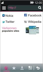 Nokia Asha 311 - Internet - Hoe te internetten - Stap 3