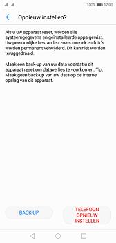 Huawei P20 - Toestel reset - terugzetten naar fabrieksinstellingen - Stap 7