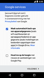 Motorola Moto G 4G (3rd gen.) (XT1541) - Applicaties - Account aanmaken - Stap 17