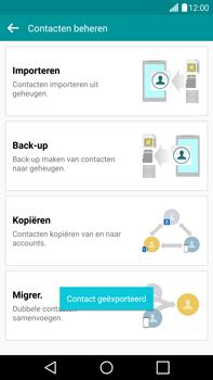 LG G4 - Contacten en data - Contacten kopiëren van toestel naar SIM - Stap 12