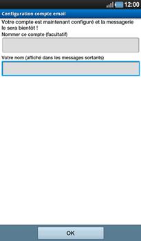 Samsung P1000 Galaxy Tab - E-mail - Configuration manuelle - Étape 11