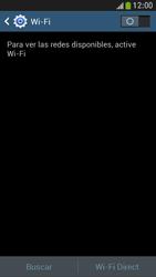 Samsung Galaxy S4 Mini - WiFi - Conectarse a una red WiFi - Paso 5
