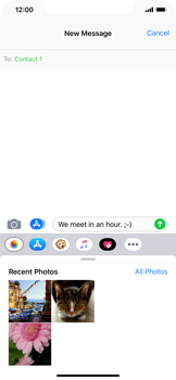 Apple iPhone XS Max - MMS - Sending a picture message - Step 9