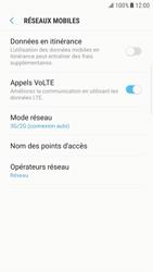 Samsung G925F Galaxy S6 Edge - Android Nougat - Réseau - Activer 4G/LTE - Étape 6