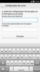 Huawei G620s - Email - Adicionar conta de email -  9