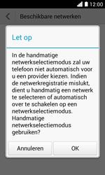 Huawei Ascend Y330 - Bellen - in het buitenland - Stap 7