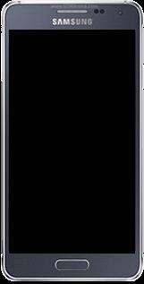 Samsung Galaxy Alpha - Premiers pas - Découvrir les touches principales - Étape 2