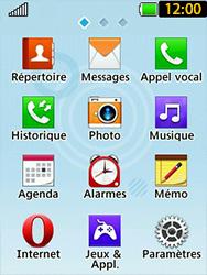LG T580 - Internet et connexion - Naviguer sur internet - Étape 3