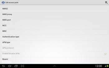 Samsung P5100 Galaxy Tab 2 10-1 - Internet - Manual configuration - Step 12
