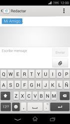 Sony D2203 Xperia E3 - Mensajería - Escribir y enviar un mensaje multimedia - Paso 10
