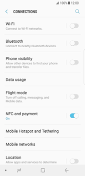 Samsung Galaxy S8 - Android Oreo - Wi-Fi - Connect to Wi-Fi network - Step 5