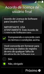 Samsung G357 Galaxy Ace 4 - Primeiros passos - Como ativar seu aparelho - Etapa 8