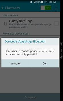Samsung N915FY Galaxy Note Edge - WiFi et Bluetooth - Jumeler votre téléphone avec un accessoire bluetooth - Étape 7